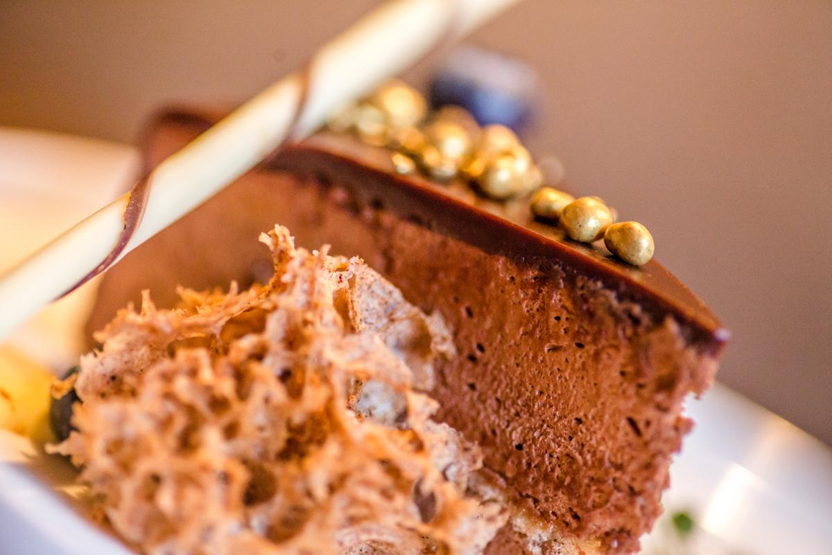 Een heerlijk chocolade dessert